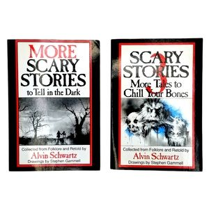 Scary Stories to Tell in the Dark Sequel Set (Bundle of 2 Vintage Paperbacks)